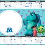 Convite Calendário 2015 2 Monstros SA