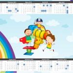 Convite Calendário Dia das Crianças Lembrancinha