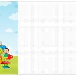 Convite, Cardápio ou Cronograma em Z Dia das Crianças Lembrancinha
