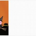 Convite, Cardápio ou Cronograma em Z Peppa Pig Halloween