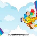 Convite Cupcake Dia das Crianças Lembrancinha