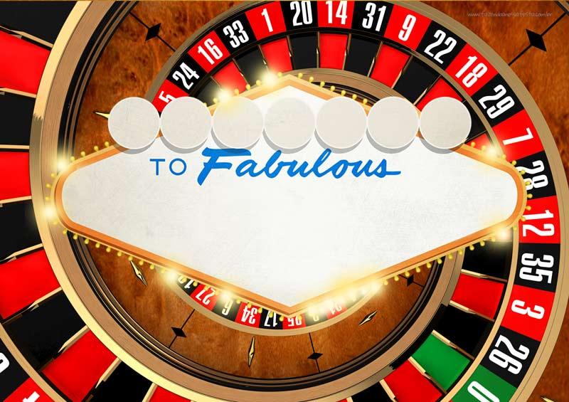 Convite Las Vegas Poker Modelo