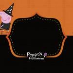 Convite Peppa Pig Halloween
