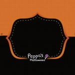 Convite Peppa Pig Halloween 4