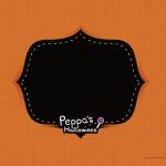 Convite Peppa Pig Halloween 6