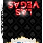 Convite Pirulito Kit Festa Las Vegas Poker
