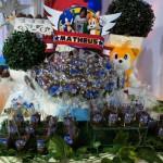 Copinho de Brigadeiro e Brigadeiro Festa Sonic do Matheus