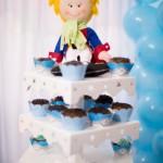 Cupcakes 2 Festa Pequeno Príncipe do Arthur