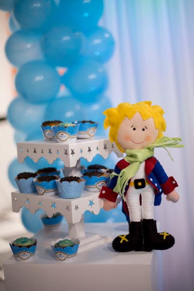 Cupcakes Festa Pequeno Príncipe do Arthur