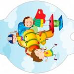 Enfeite Canudinho Dia das Crianças Lembrancinha