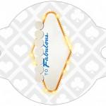 Enfeite Canudinho Kit Festa Las Vegas Poker