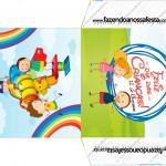 Envelope CD DVD Dia das Crianças Lembrancinha