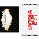 Envelope CD DVD Kit Festa Las Vegas Poker
