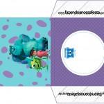 Envelope CD DVD Monstros SA