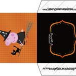 Envelope CD DVD Peppa Pig Halloween