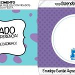 Envelope Cartão Agradecimento Monstros SA