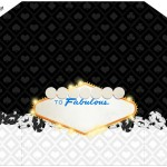 Envelope Convite Kit Festa Las Vegas Poker