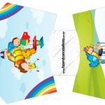 Envelope Fritas Dia das Crianças Lembrancinha