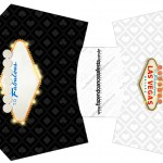 Envelope Fritas Kit Festa Las Vegas Poker