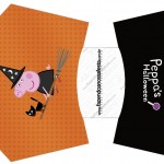 Envelope Fritas Peppa Pig Halloween