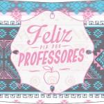 Esmalte Risque Dia Dos Professores Coruja Rosinha e Azul