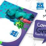Kit Festa Monstros S.A. – Personalizados Grátis