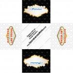 Forminhas Docinhos Quadrada Kit Festa Las Vegas Poker