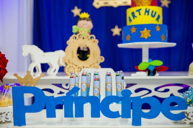 Letras Festa Pequeno Príncipe do Arthur