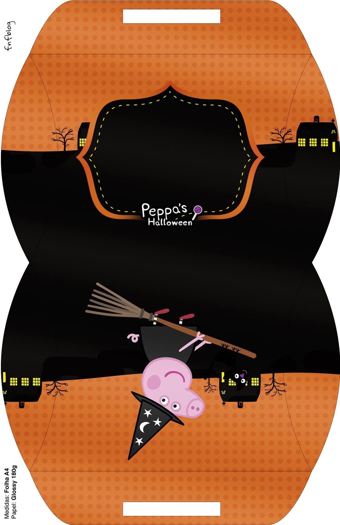 Maleta Peppa Pig Halloween