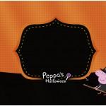 Marmita 500gr Peppa Pig Halloween
