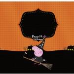 Marmita Pequena Peppa Pig Halloween