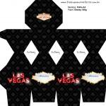 Meia Caixa Bala Kit Festa Las Vegas Poker