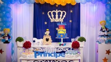 Mesa de Doces Festa Pequeno Príncipe do Arthur