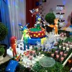 Mesa de Doces Festa Sonic do Matheus