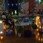 Mesa decoração Festa Sonic do Matheus