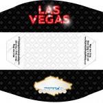 Mini Cachorro-quente Kit Festa Las Vegas Poker