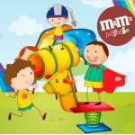 Mini M&M Dia das Crianças Lembrancinha