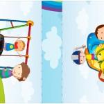 Mini Talento Dia das Crianças Lembrancinha