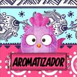 Molde Aromatizador Dia Dos Professores Coruja Rosa e Azul
