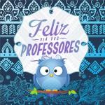 Molde Aromatizador de ambiente Dia Dos Professores Coruja Azul