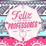 Molde Esmalte Risque 3 Dia Dos Professores Coruja Rosa e Azul