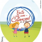 Molde Tubete Oval Dia das Crianças Lembrancinha