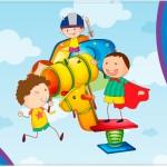 Molde de Cartão para o Dia das Crianças Lembrancinha