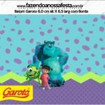 Rótulo Baton Garoto Monstros SA