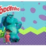 Rótulo toddynho Monstros S.A