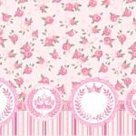 Nescauzinho Coroa de Princesa Rosa Floral