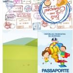 Passaporte Dia das Crianças Lembrancinha