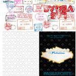 Passaporte Kit Festa Las Vegas Poker