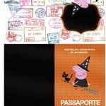Passaporte Peppa Pig Halloween
