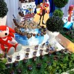 Pirulitos Festa Sonic do Matheus